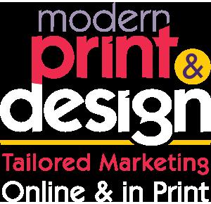 Modern Print & Design Logo