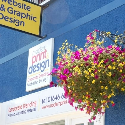 Sign makers in Pembrokeshire