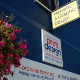 graphic designers Pembrokeshire