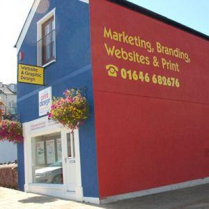Pembrokeshire website designers and printers