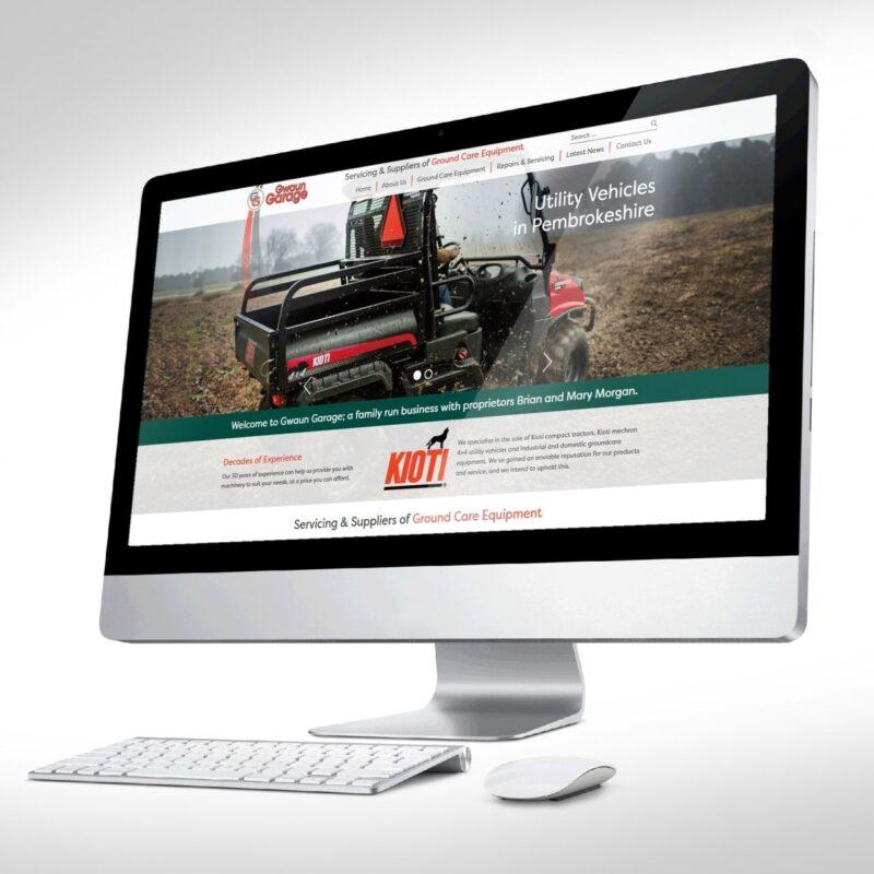 Gwaun Garage Website