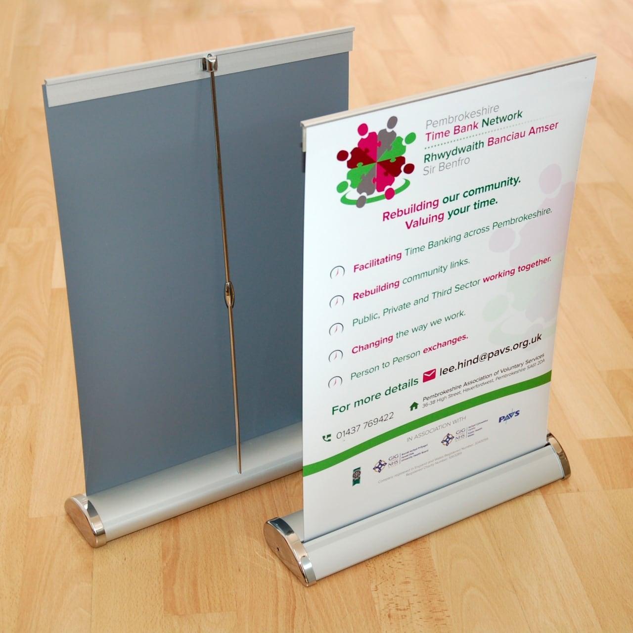 Pembrokeshire Time BankBanner & Sign Design Case Study