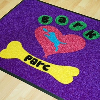 Printed floor mat printers Pembrokeshire Narberth Tenby Haverfordwest