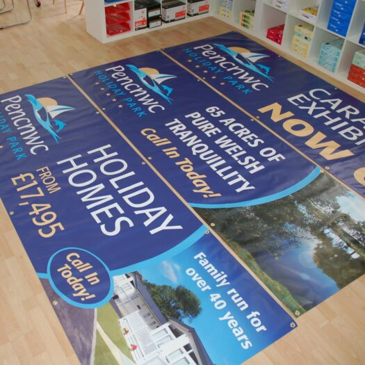 Banner printers in Pembrokeshire Tenby Narberth Haverfordwest