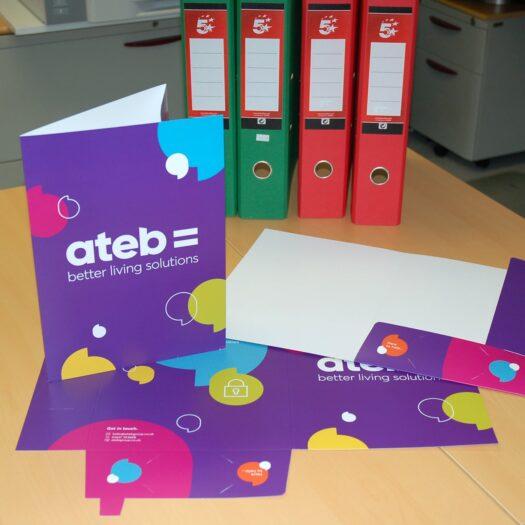 Presentation folder designeres Pembrokeshire Tenby Narberth Haverfordwest