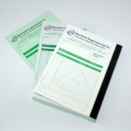 Left handed invoice book printers