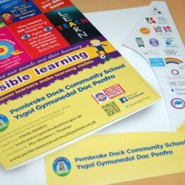 Presentation folder designers in Pembrokeshire