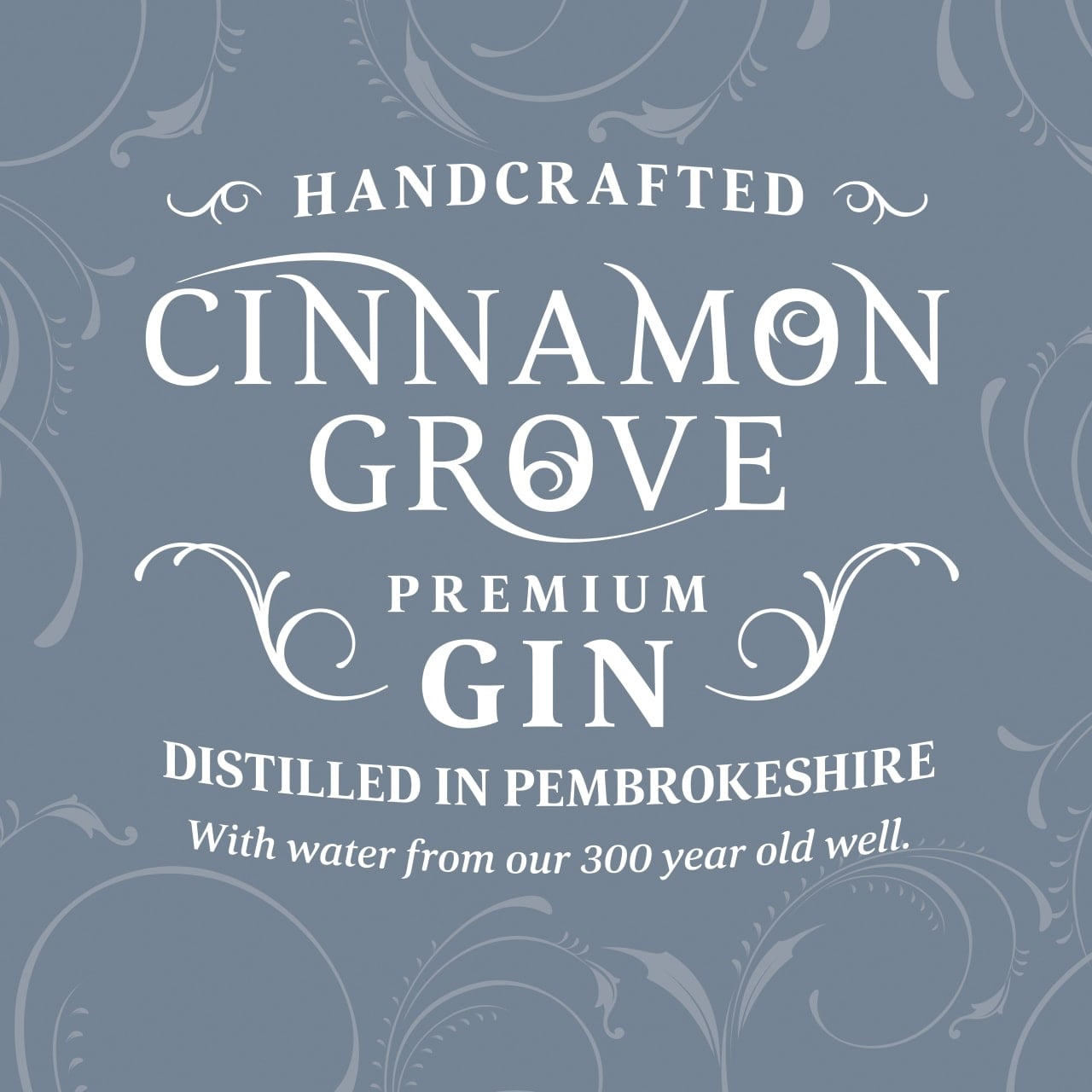 Cinnamon Grove Premium Gin Corporate Branding Case Study