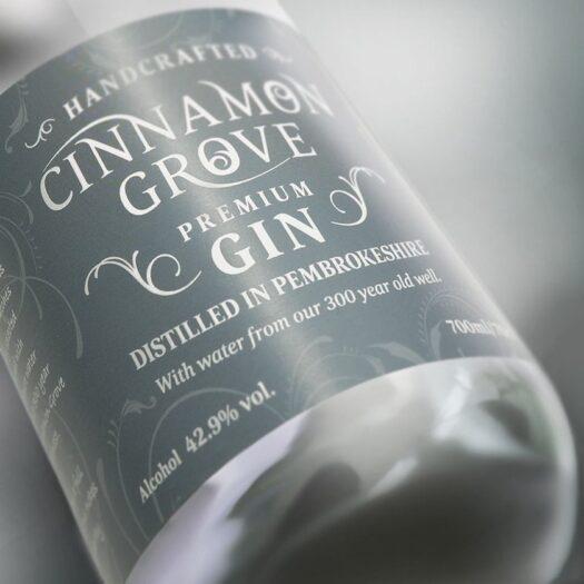 gin label printers Pembrokeshire