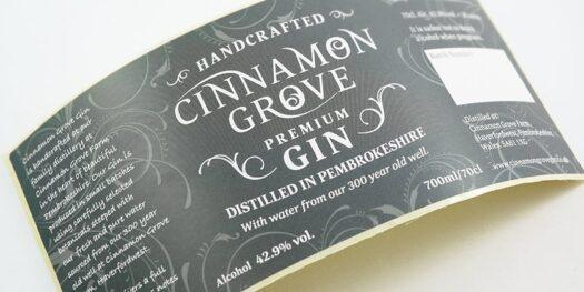 gin logo designers pembrokeshire