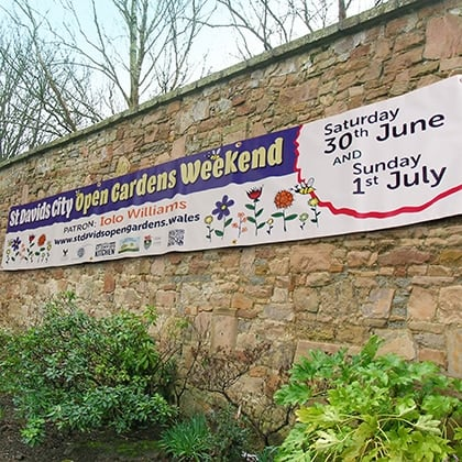 banner printers pembrokeshire Tenby Narberth Haverfordwest