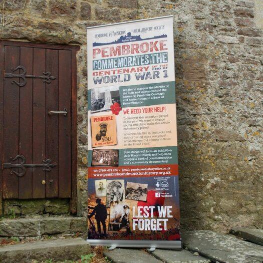 Roller banner printers Pembrokeshire