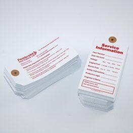 Strung tag printers Pembrokeshire