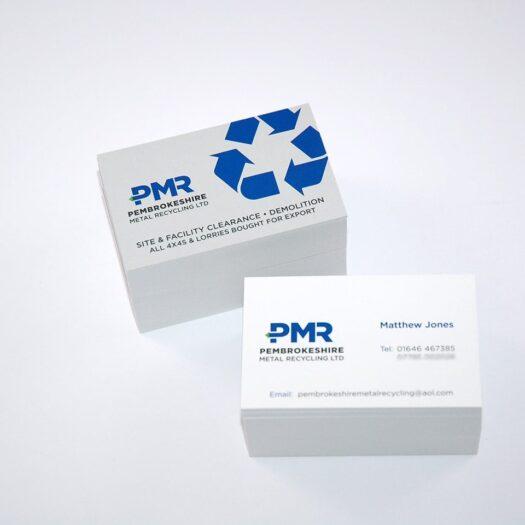Business card designers Pembrokeshire