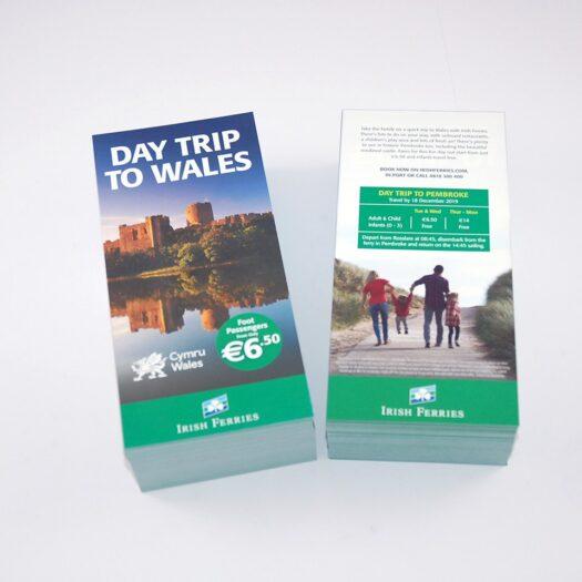 Leaflet designers Pembrokeshire Narberth Tenby Haverfordwest