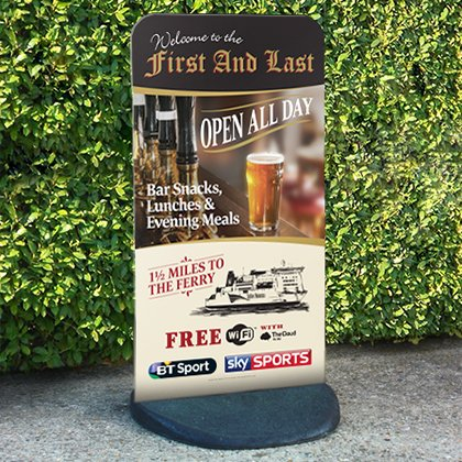 Pavement sign printers Pembrokeshire Tenby Narberth Haverfordwest