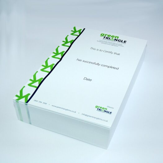 certificate printers pembrokeshire tenby narberth Haverfordwest