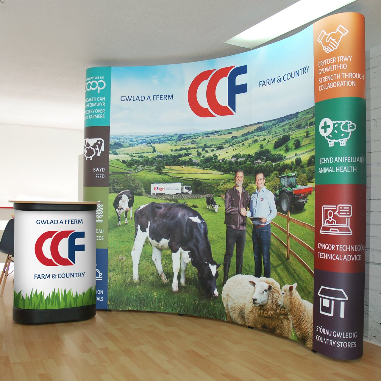 Exhibition stand printiers Pembrokeshire Tenby Narberth Haverfordwest