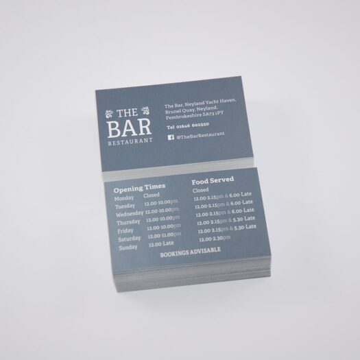 Business Card designers Pembrokeshire Tenby Haverfordwest Narberth