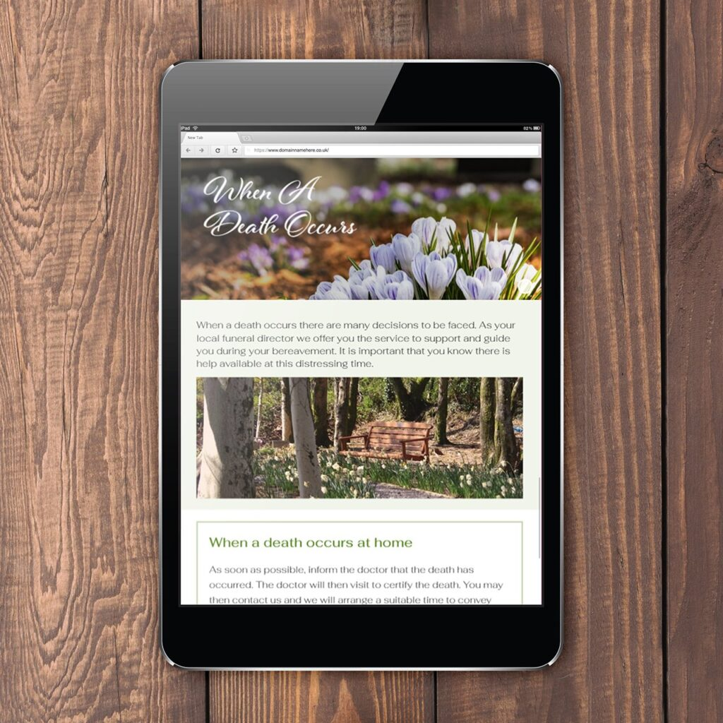 Website designers Pembrokeshire Tenby Haverfordwest Narberth for