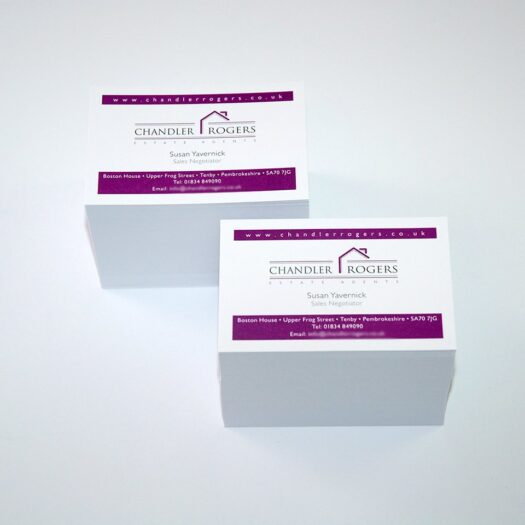 Business Card designers Pembrokeshire Tenby Narberth Haverrfordwest