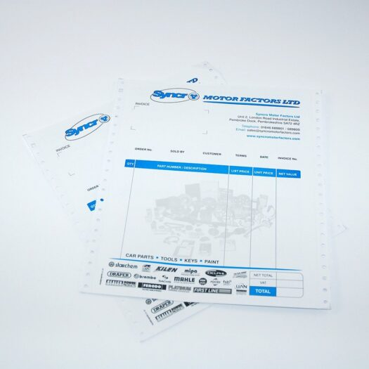 Continuous Stationery Printers Pembrokeshire Tenby Narberth Havaerfordwest