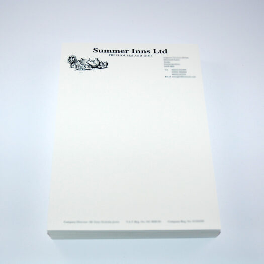 letterhead printers Pembrokeshire Tenby Narberth Haverfordwest