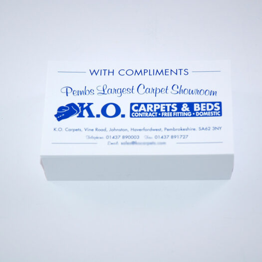 Compliment slip printers Pembrokeshire Haverfordwest Tenby Narberth