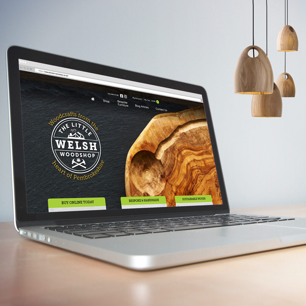Website designers in Pembrokeshire Haverfordwest Narberth Tenby