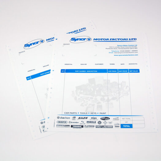 Continuous Computer Stationery Printers pembrokeshire tenby narberth haverfordwest