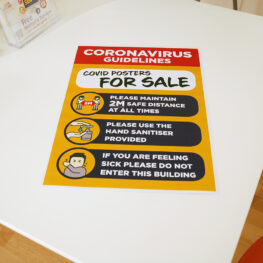 Covid 19 posters for Sale Pembrokeshire Tenby Narberth Haverfordwest
