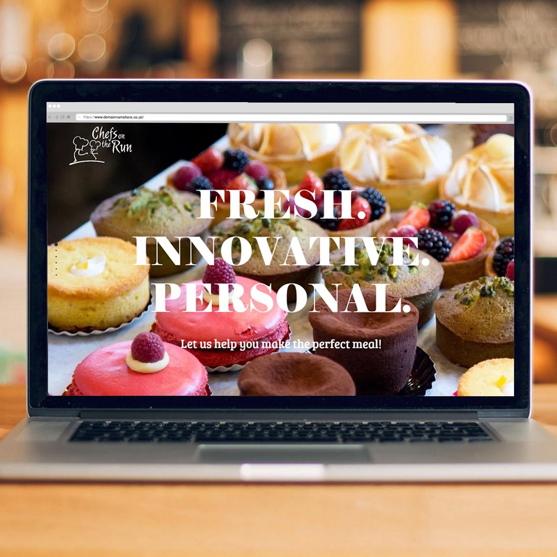 Pembrokeshire Web Designers for Chefs On The RunWeb Design Case Study