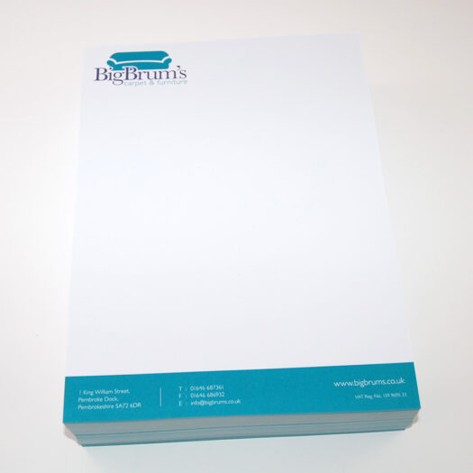 Letterhead Designers Pembrokeshire tenby Narberth Haverfordwest