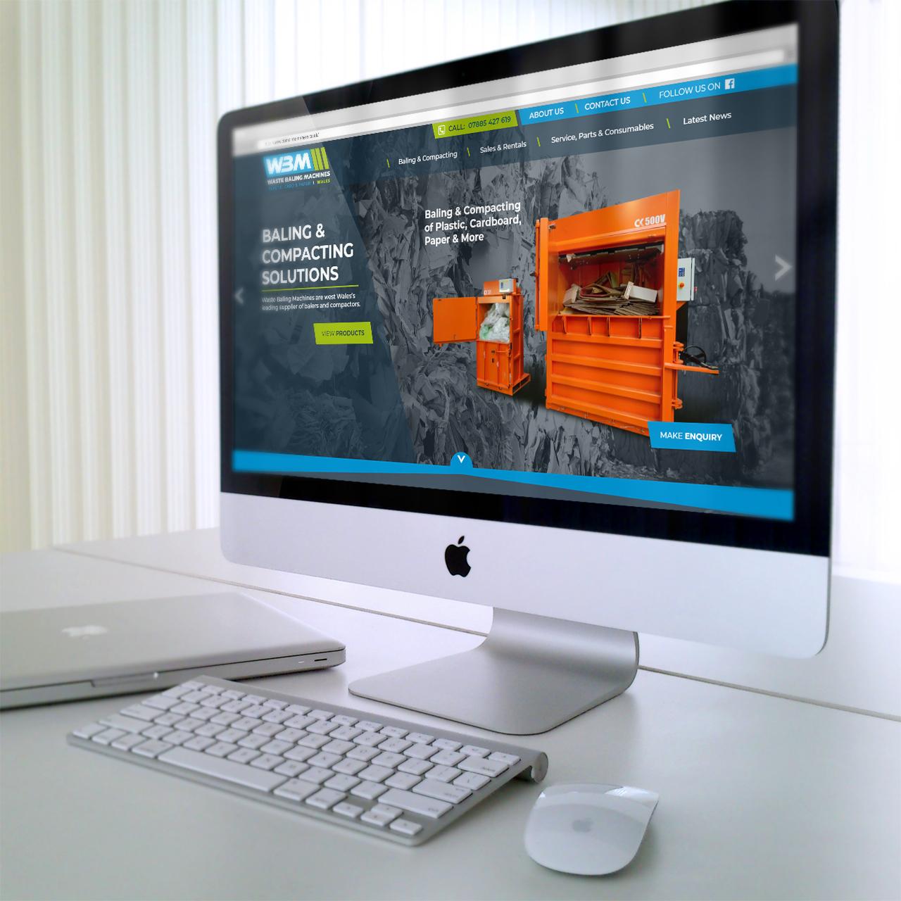 Website Designers in Pembrokeshire for WBMWeb Design Case Study