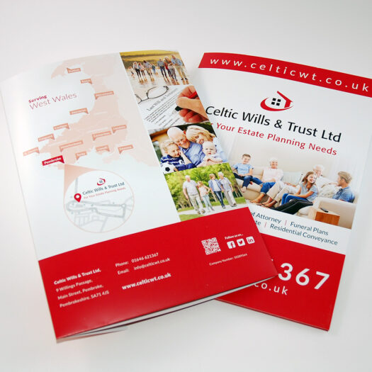 Presentation folder printers in Pembrokeshire Tenby Narberth Haverfordwest