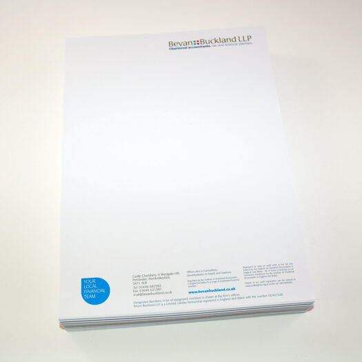 Letterhead designers pembrokeshire tenby narbeth Haverfordwest