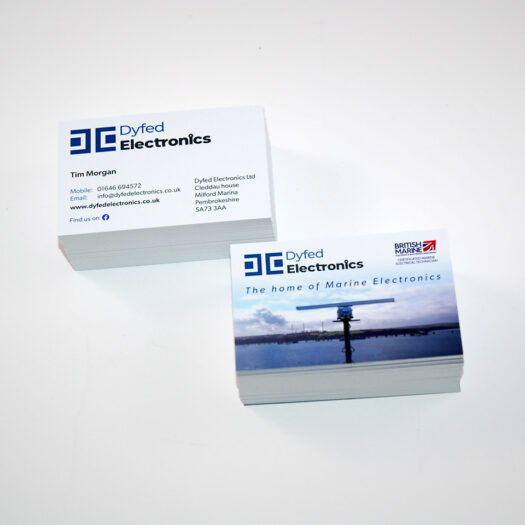 business card designers pembrokeshire haverfordwest Tenby Narberth
