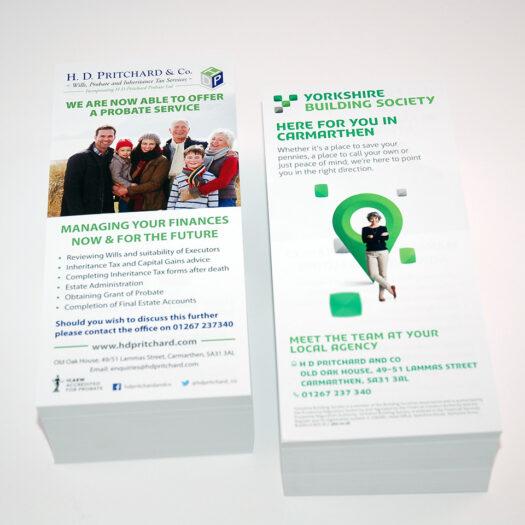 leaflet designers pembrokeshire tenby narberth haverfordwest