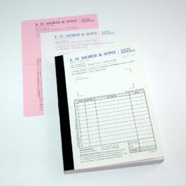 NCR bill book printers