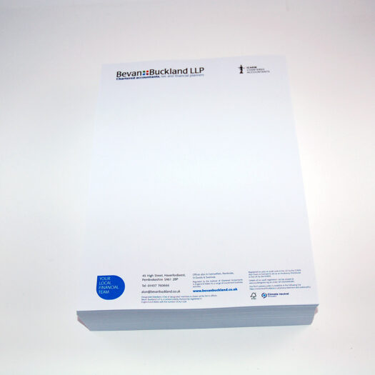 letterhead printers Pembrokeshire tenby Narberth Haverfordwest