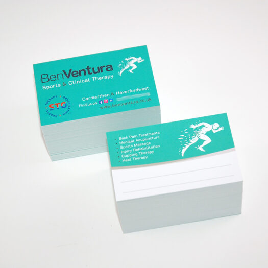 Business card printers Pembrokeshire Tenby Narberth Haverfordwest