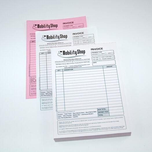 Stationery bill book Printers