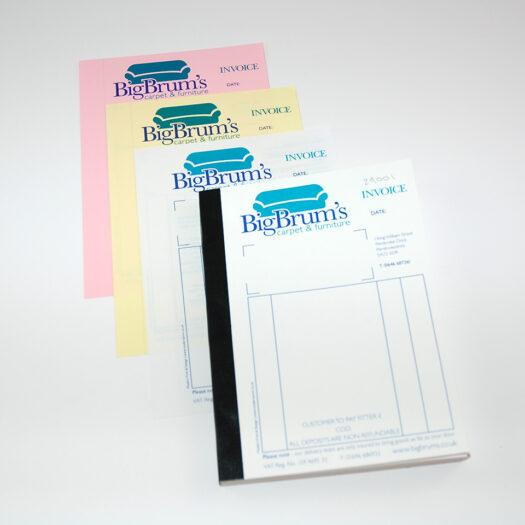 invoice bill book