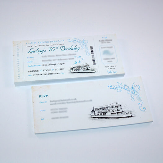 Ticket and Invitation Printers in Pembrokeshire tenby narberth haverfordwest