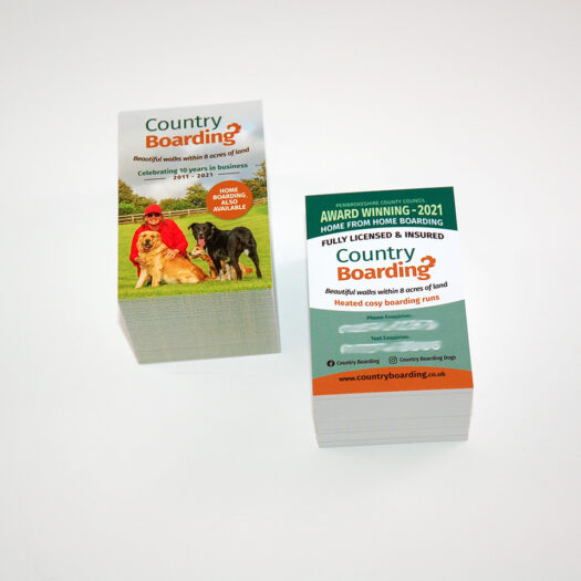 Business card designers in pembrokeshire tenby narberth haverfordwest