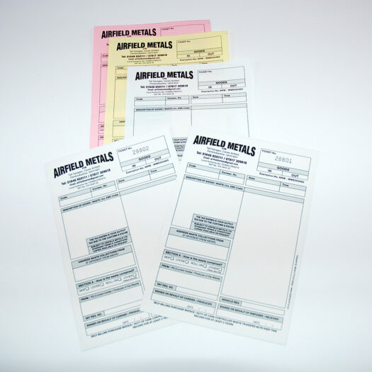 Invoice book printers pembrokeshire tenby narberth haverfordwest