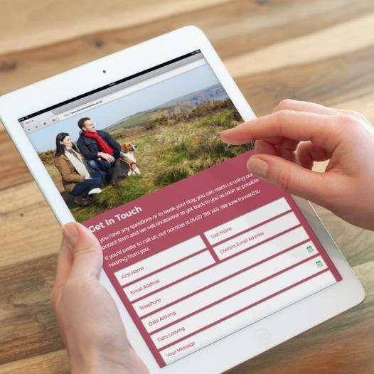 Holiday booking website for Rosehill Caravan ParkWeb Design Case Study