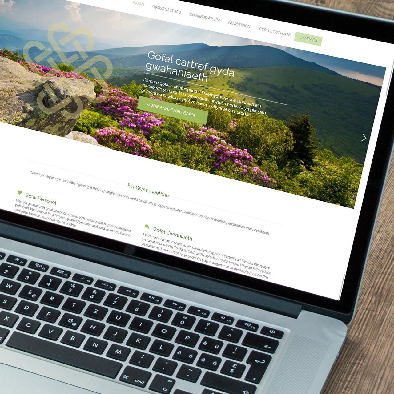 Bilingual Website Designers for Gofalus LtdWeb Design Case Study