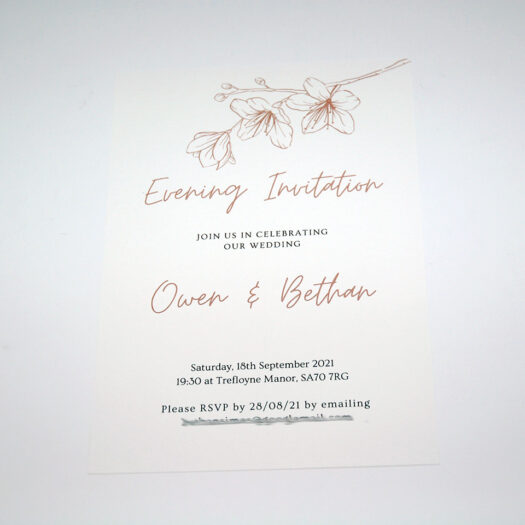 Invitation Printers in Pembrokeshire tenby narberth haverfordwest